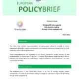 TRANSFORM Policy Brief